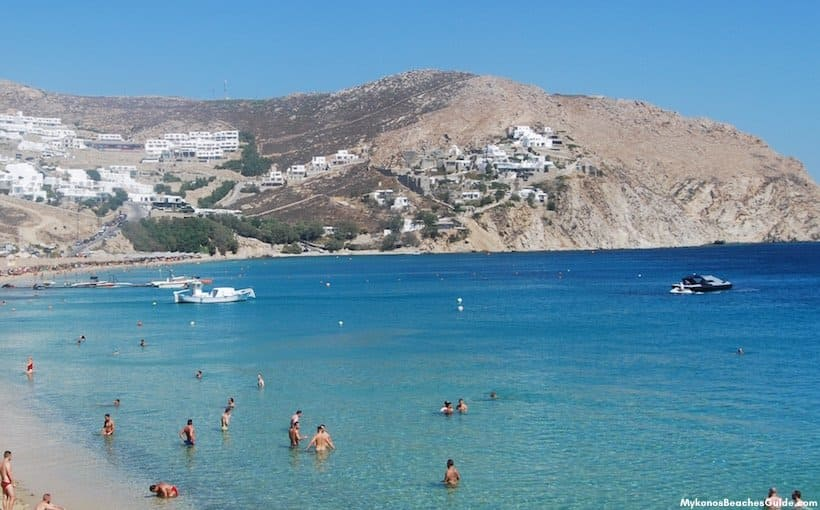 Elia Gay Beach, Mykonos