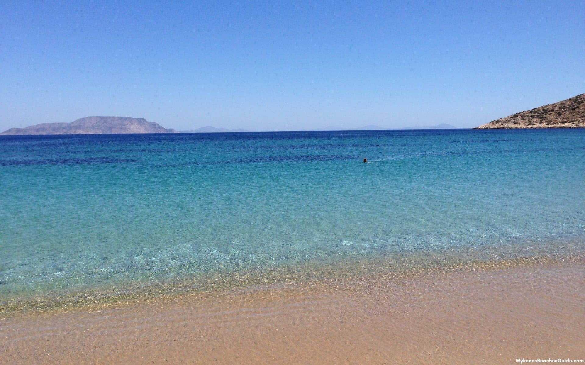 Greek Island Beach