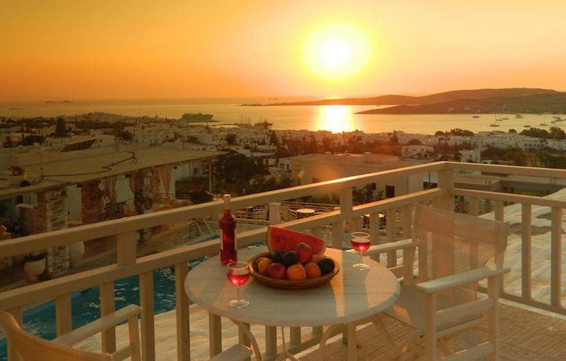 Sunset View Hotel, Paros