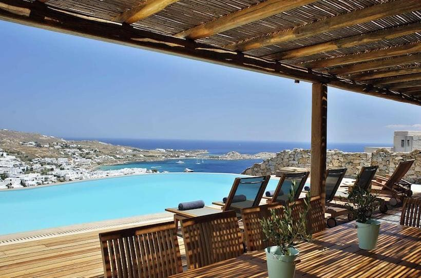 The Crown Estate in Psarou, Mykonos