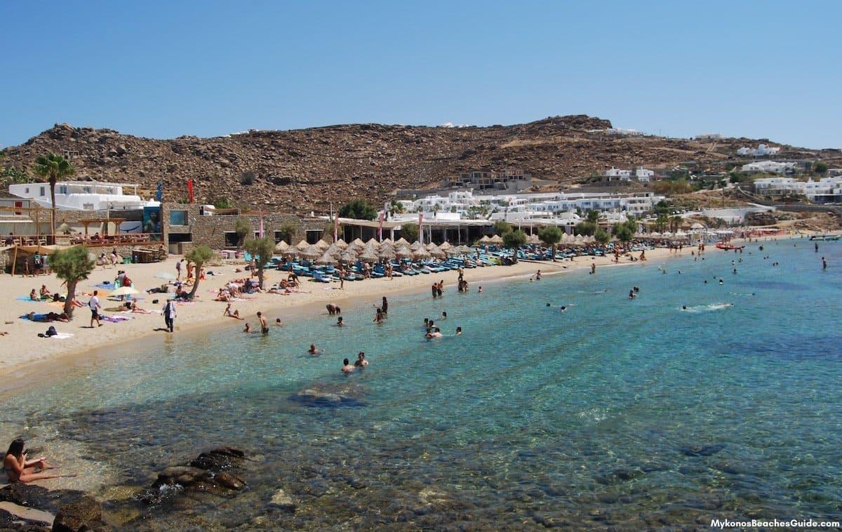 PARADISE BEACH, Mykonos Party Beach